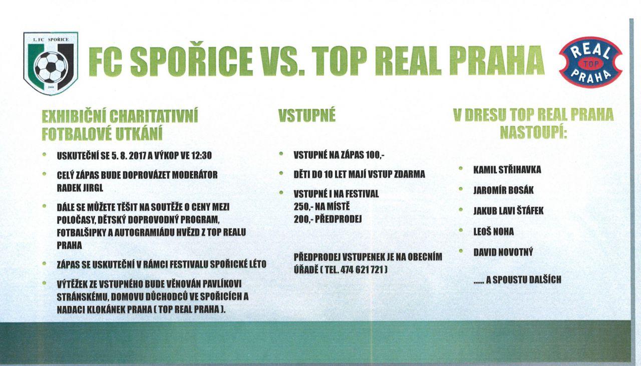 FC Spořice - TOP REAL PRAHA