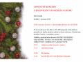 Adventní koncert a rozsvícení vánočního stromu ve Spořicích