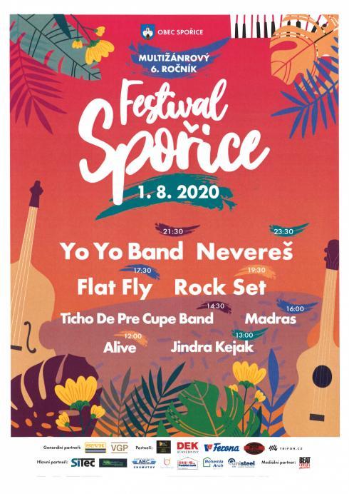 Festival Spořice 2020- plakát
