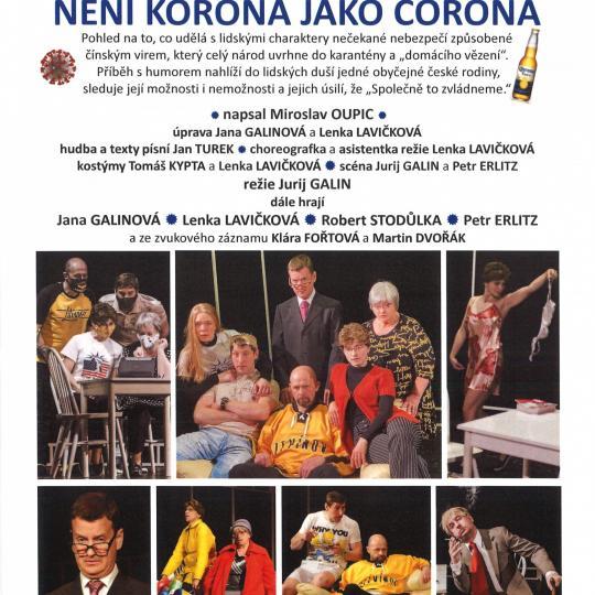 Divadelní představení Není korona jako corona