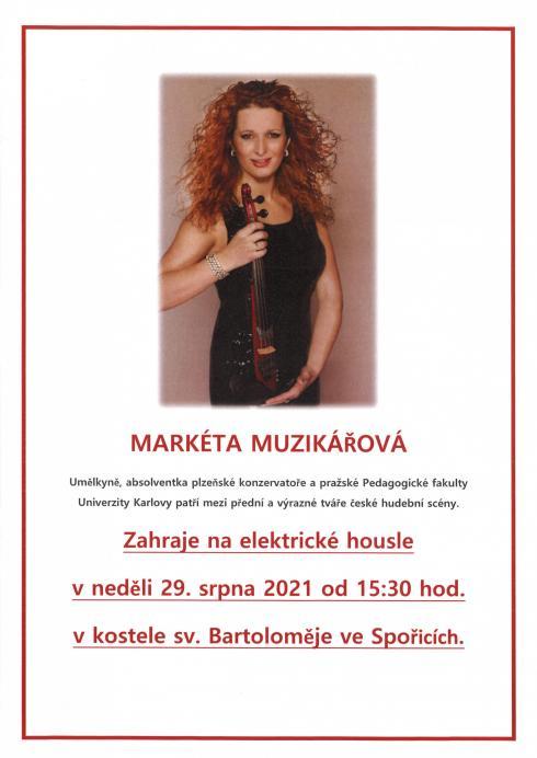 Markéta Muzikářová - elekrrické housle